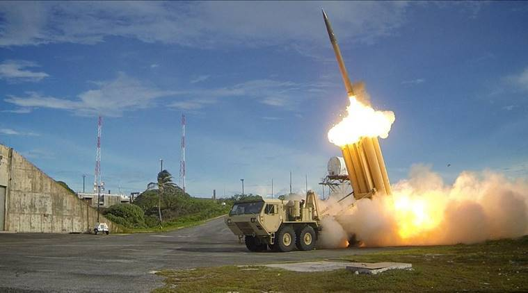 THAAD, What is THAAD, US missile defence system, missile defence system in South Korea, Terminal High-Altitude Area Defense, north korea ballistic missile, China, Chinese News, Chinese Security, Regional Security, world news, indian express news, India news
