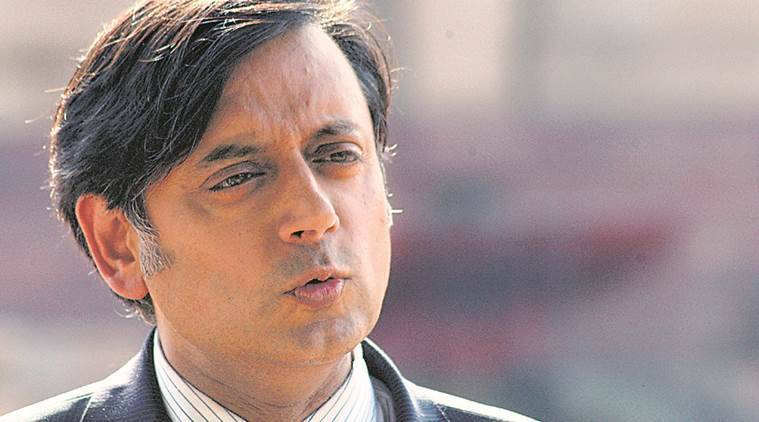 shashi tharoor sky news, shashi tharoor sky news interviews, shashi tharoor criticises british, shashi tharoor on colonial rule, indian express, indian express news