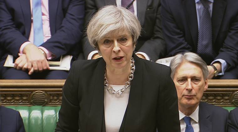 London terror attack, london parliament attack, westminster attack, westminster terror attack, british PM, Theresa May, British Prime minister, british house of commons, world news, indian express news
