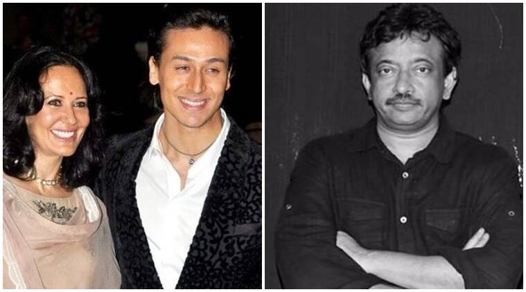 ram gopal varma, ram gopal varma tweet, ram gopal varma tiger shroff, tiger shroff ayesha shroff, ayesha shroff ram gopal varma, jackie shroff, sarkar 3, tiger shroff sister, krishna shroff, indian express news, entertainment news
