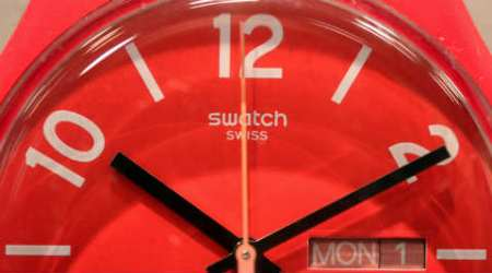 Swatch takes on Google, Apple with watch operating system