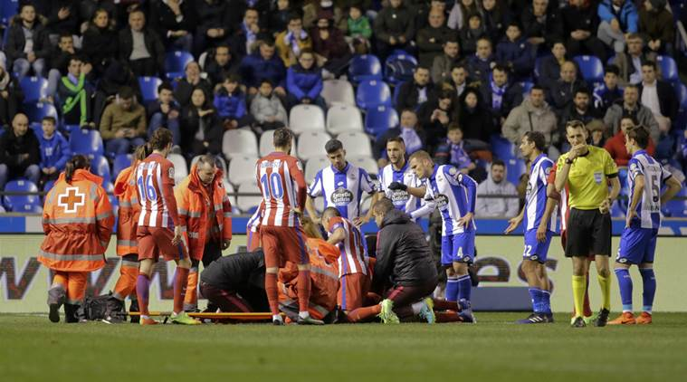 La Liga: Atletico Madrid falters in game marked by ...