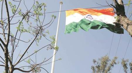 Tallest Tricolour hits rough weather in Attari, replaced twice in two weeks
