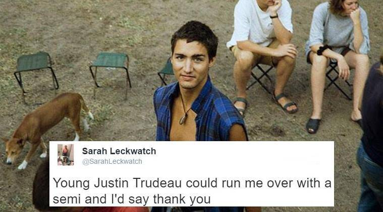 justin trudeau, justin trudeau young pictures, young justin trudeau photos, photos of young justin trudeau, canadian pm justin trudeau, justin trudeau young photos, justin trudeau handsome, indian express, indian express trending, trending in india