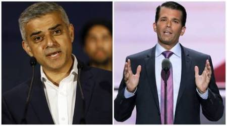 Westminster terror attack: Donald Trump Jr faces backlash for 'disgraceful' tweet against London Mayor