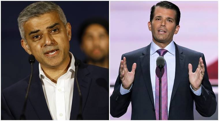 donald trump jr, donald trump junior, London attack, London terror attack, westminster attack, UK attack, britain attack, Trump Sadiq Khan, Sadiq Khan, London Mayor Sadiq Khan, british parliament attack, westminister terror attack, UK terror attack, theresa may