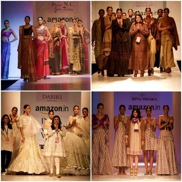 AIFW 2017: With Rina Dhaka, Shaina NC, Shruti Sancheti, Abraham and Thakore, Indian handlooms shine bright on Day 1