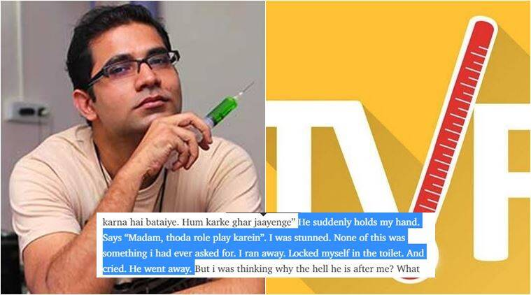 tvf molestation charge arunabh kumar, tvf molestation charge, arunabh kumar molestation, medium, The Indian Uber- That Is TVF, Indian Fowler, indian express, indian express news