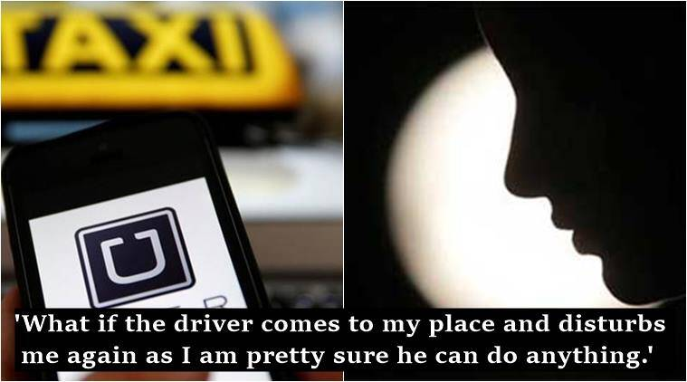 uber, uber complaint, girl's complaint against uber goes viral, delhi girl's complaint against uber on facebook, delhi girl's complaint against uber viral Facebook, uber driver misbehaves with delhi girl, ola uber rivalry, delhi girl's complaint against uber, uber driver misbehaves with delhi girl, indian express, indian express news