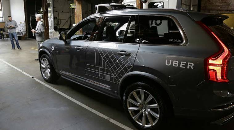 Uber's self-driving cars get into another crash