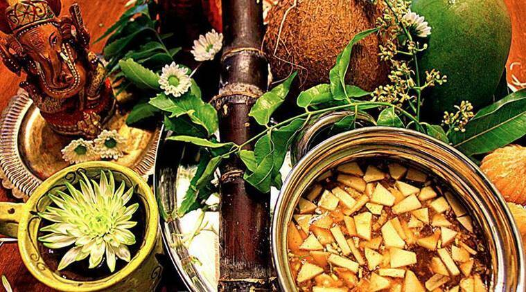 ugai, ugadi 2017, ugai puja timings, ugadi puja vidhi, ugadi new year, what is ugadi, when is ugadi, ugadi gudi padwa, ugadi and gudi padwa, ugadi gudi padwa puja timings, ugadi gudi padwa 2017, indian express, indian express news