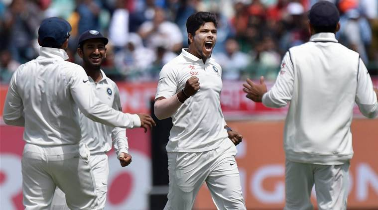 umesh yadav, umesh, umesh yadav india, india vs australia, ind vs aus, india vs australia highlights, ind vs aus 2017, umesh yadav video, cricket news, cricket