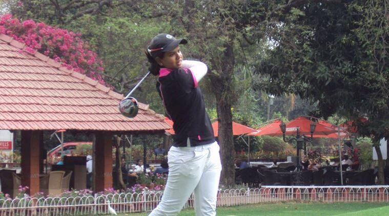 vani kapoor, hero woma's professional golf tour, Gaurika Bishnoi, Amandeep drall, golf news, sports news, indian express