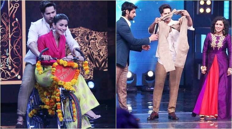Varun Dhawan rips pants on Indian Idol 9, Alia Bhatt doubles up with ...
