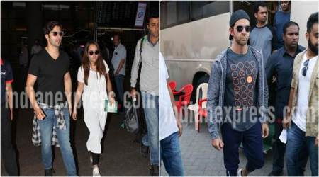 Varun Dhawan spotted with girlfriend Natasha Dalal, look what celebrities are upto
