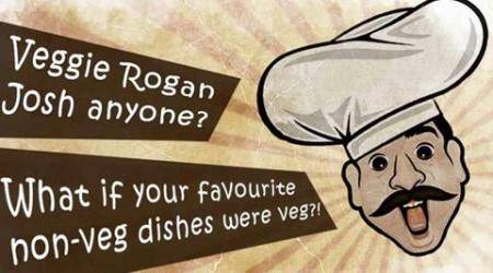 Veggie Rogan Josh anyone? What if your favourite non vegetarian dishes were vegetarian?!