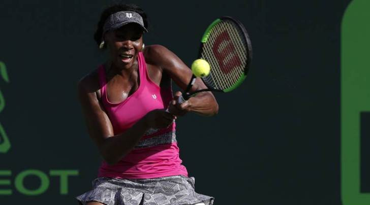 Venus Williams, Venus Williams Miami Open, Miami Open Venus Williams, Venus Williams US, Venus Williams win, Patricia Maria, sports, tennis news, Tennis, Indian Express