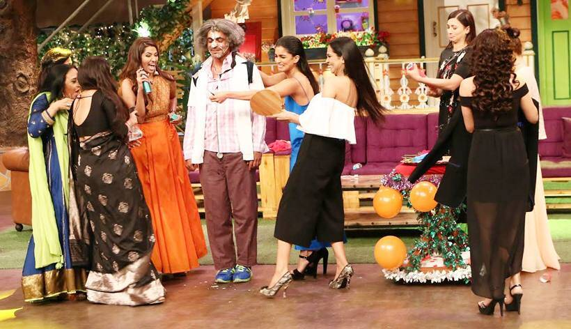 kapil sharma, vidya balan, ila arun, gauahar khan, begum jaan, the kapil sharma show, international womens day 2017, indian express news, entertainment news