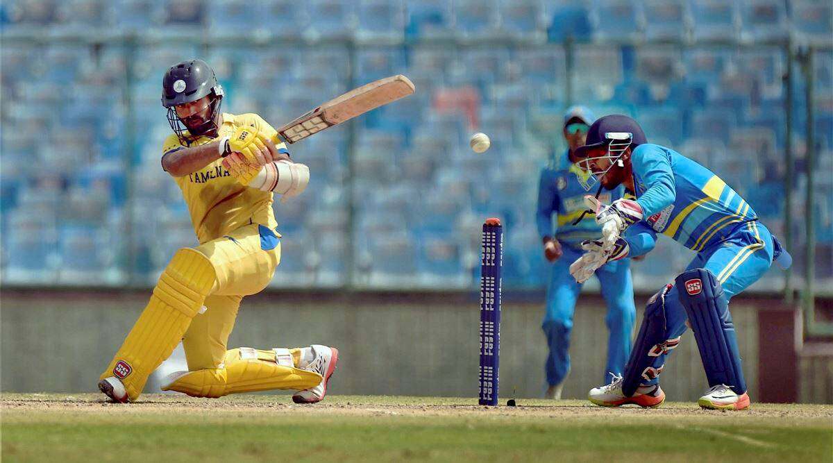 Vijay Hazare trophy, Vijay Hazare trophy final, Vijay Hazare trophy news, Dinesh Karthik, Dinesh Karthik hundred, Dinesh Karthik hundred Vijay Hazare, sports news, sports, Cricket news, Cricket