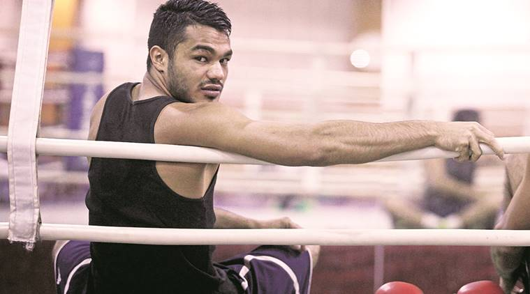 Image result for New Jersey, old resolve for boxer Vikas Krishan