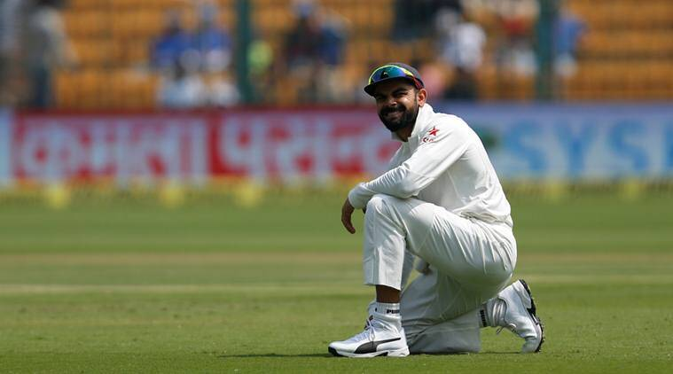 Virat Kohli has had a poor show with the bat against Australia and it didn't change in the second innings of the second Test.