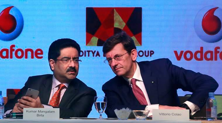 Mangalam Birla,Vittorio Colao meet telecom minister, discuss Voda-Idea merger