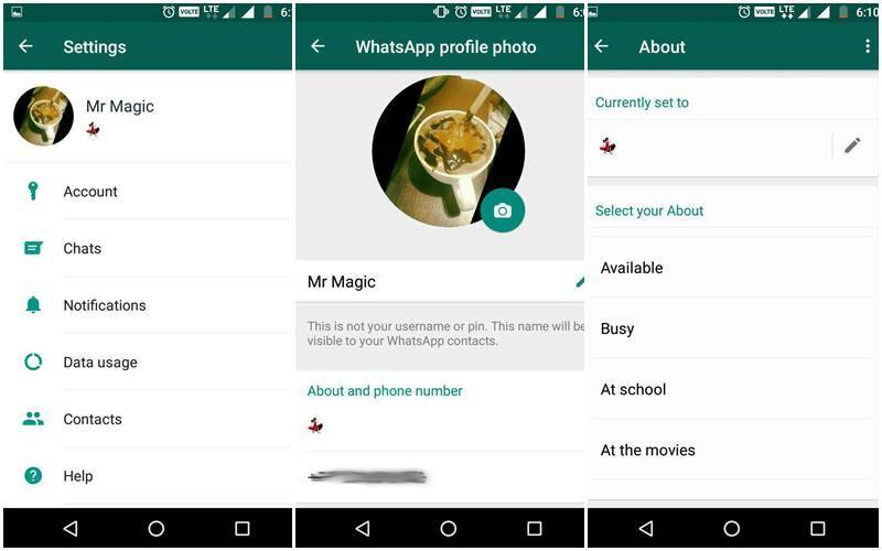 Whatsapp Brings Back Text Status For Android Users Coming