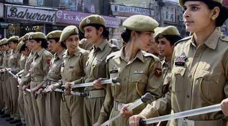 women police, police force, indian police force, women in police, police women, women police force, Hansraj G Ahir