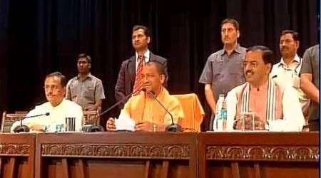 yogi adityanath, uttar pradesh, UP chief minister, yogi adityanath news, uttar pradesh news, uttar pradesh government officials, yogi adityanath govt officials meeting