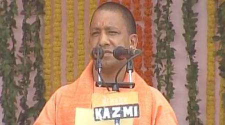 Yogi Adityanath, Yogi Adityanath swearing in ceremony, uttar Pradesh, Uttar Pradesh Chief Minister, UP CM swearing-n, UP chief minister oath taking, Yogi adityanath UP CM, Yogi Adityanath swearing in live updates, Yogi Adityanath swearing in live stream, Yogi Adityanath live updates, Yogi Adityanath live stream, keshav maurya, dinesh sharma, keshav maurya-deputy chief minister, 21 cm, Adityanath 21 st Up cm, Yogi Adityanath uttar pradesh chief minister, Yogi Adityanath news, india news, indian express news