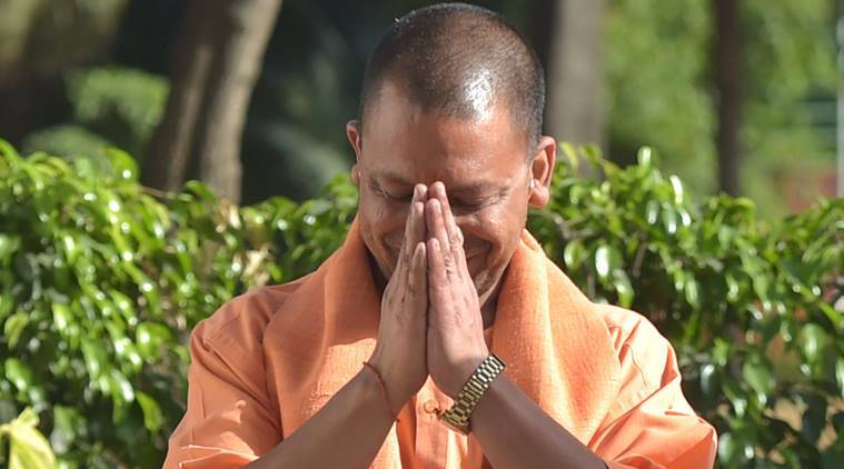 Yogi Adityanath, Adityanath, Yogi Adityanath on illegal slaughterhouses, UP CM on illegal slaughterhouses, BJP, BJP president on slaughterhouses, indian express news