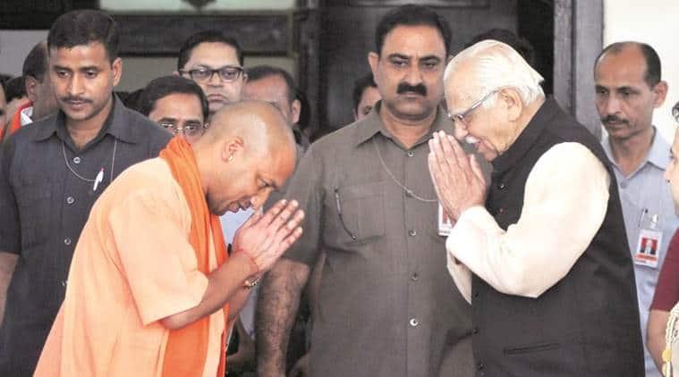 Governor Ram Naik, Yogi Adityanath, yogi, UP, uttar Pradesh, latest news, latest india news, indian express