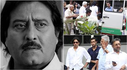 Vinod Khanna's body reaches home, family and friends pay last respects