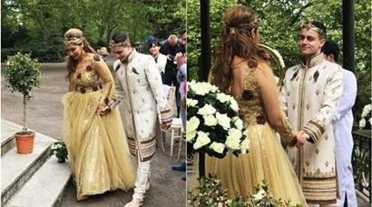 Sofia Hayat wedding: Romanian beau, Egyptian ceremony and unicorns. See pics
