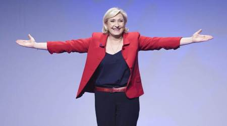 French presidential elections, French presidential elections 2017, second phase of french elections, marine le pen vs emmanuel macron, Le pen vs Macron, Marine Le Pen, French president 2017, France voting, National Front, new French president, Muslims in France, Marine Le Pen on Muslims, immigration in France, France and EU, Jean-Marine Le Pen, France, France news, French news, World news, Indian Express