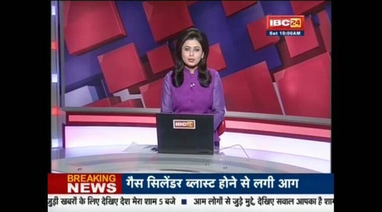 TV anchor reads out news of her husband's sudden death