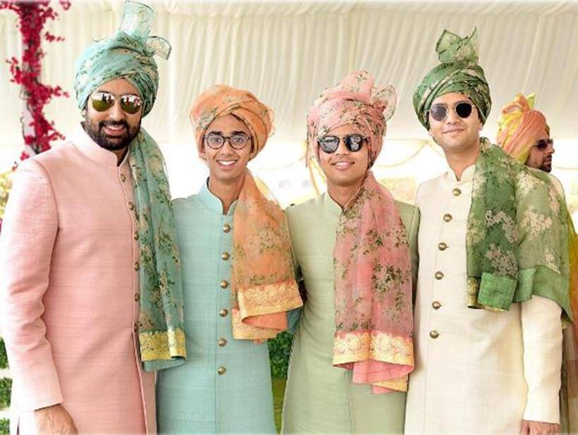 abhishek bachchan, abhishek bachchan attend wedding, abhishek bachchan destination wedding abu dhabi, abhishek bachchan images