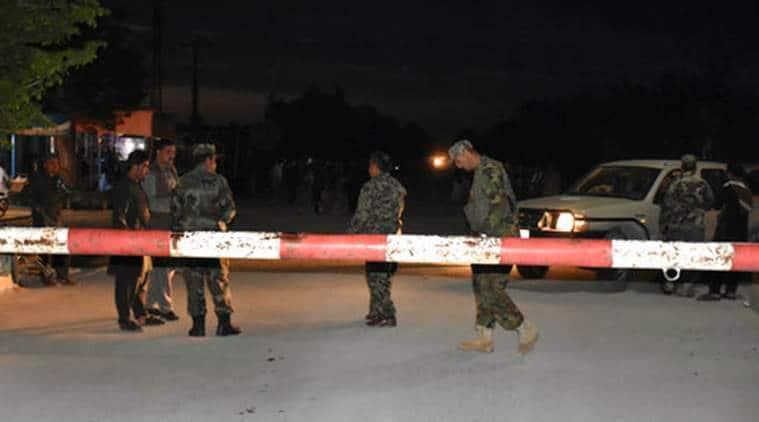 Afghanistan attack, afghanistan army headquarters attack, mazar-i-sharif, afghanistan battle, afghanistan army, afghanistan news, world news, indian express