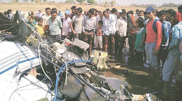 Training aircraft crashes in Vidarbha; 2 killed