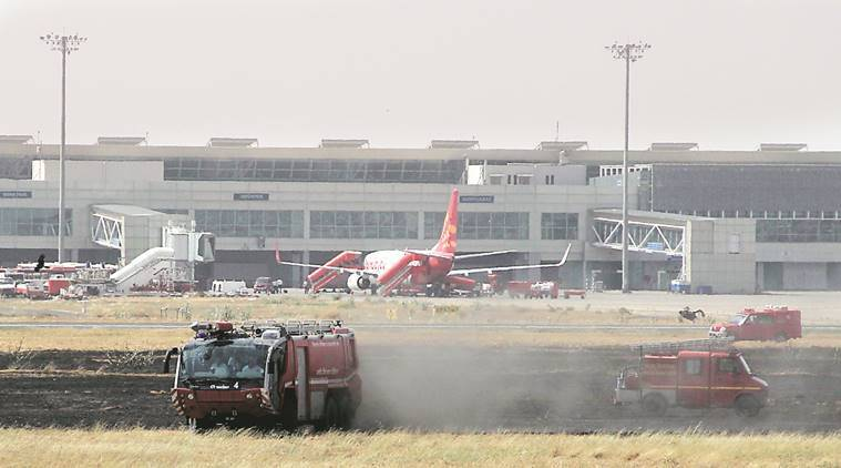 Fire Ahmedabad Airport, Ahmedabad Airport news, Ahmedabad Airport Airport news, Latest news, India news, National news