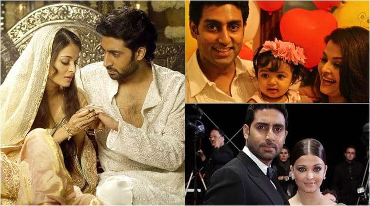 Aishwarya Rai Bachchan Abhishek Bachchan 10th Wedding Anniversary