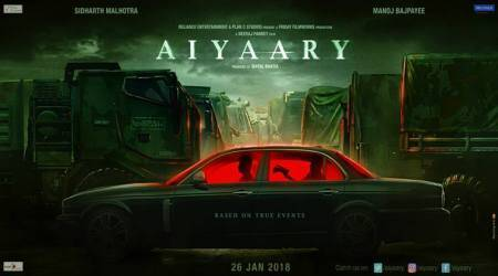 Aiyaary motion poster: Sidharth Malhotra, Manoj Bajpayee and Neeraj Pandey's film looks gritty, see pic