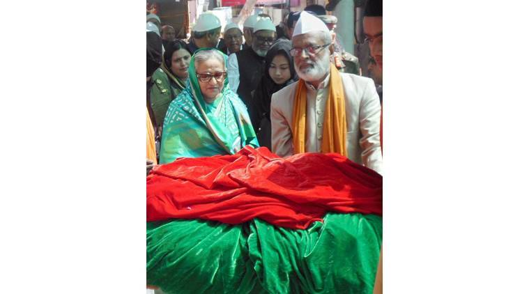 Sheikh Hasina, Sheikh Hasina Bangladesh, Bangladesh, Sheikh Hasina India visit, Sheikh Hasina Ajmer, Ajmer, latest news, latest india news, indian express