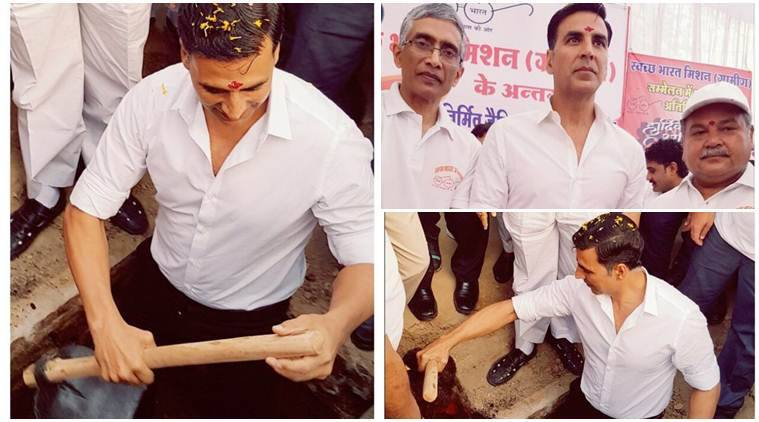 Akshay Kumar, Akshay Kumar actor, Akshay Kumar news, Akshay Kumar films, Akshay Kumar Toilet Ek Prem Katha, Toilet Ek Prem Katha akshay kumar, Toilet Ek Prem Katha movie, Toilet Ek Prem Katha news, entertainment news, indian express, indian express news