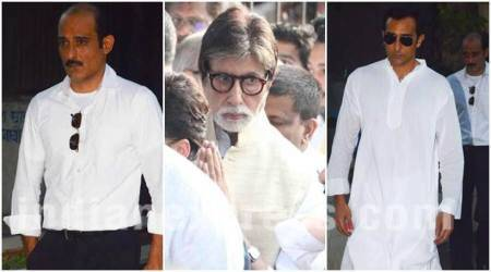 Vinod Khanna funeral: An emotional Amitabh Bachchan, Rahul Khanna and others say goodbye
