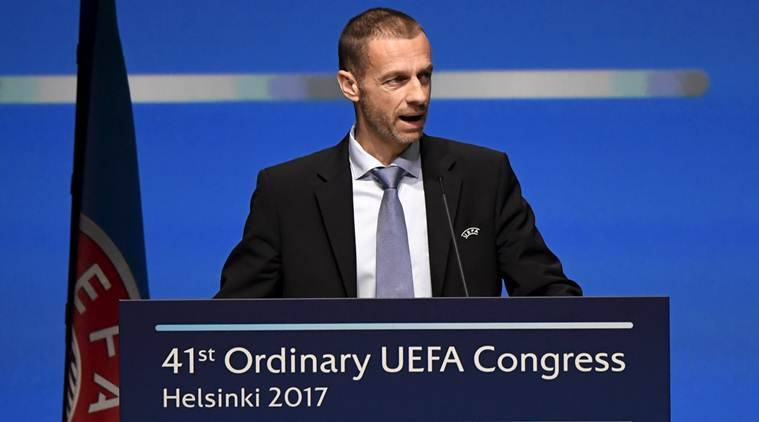 UEFA boss says he will fight CL 'blackmail'
