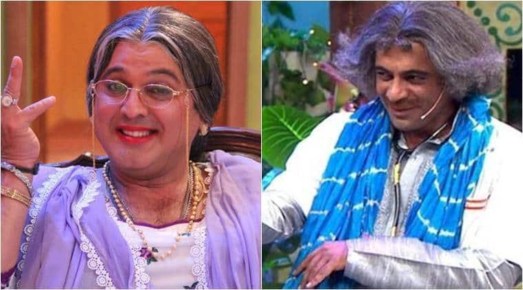 sunil grover, ali asgar, sunil ali shoot, sunil grover sony show, sunil grover ali asgar sabse bada kalakar,