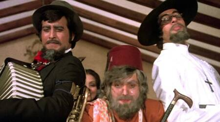 amar akbar anthony pics, amar akbar anthony stills, amar akbar anthony amitabh bachchan, amar akbar anthony rishi kapoor, amar akbar anthony vinod khanna, amar akbar anthony images, bollywood news, entertainment updates, indian express