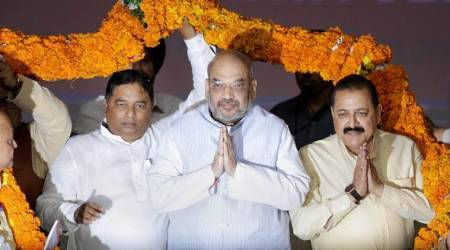 Go meet people in Kashmir Valley, Ladakh and address their concerns, Amit Shah tells BJP state ministers