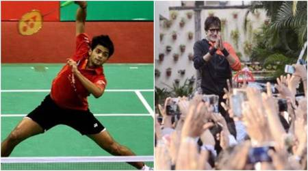 amitabh bachchan, B Sai praneeth, B Sai praneeth win, singapore series